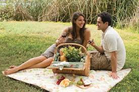 If you love the outdoors, a picnic date could be less stressful than a more traditinoal date.